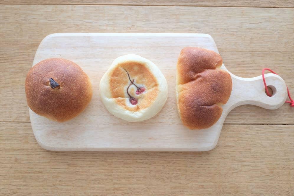 写真は今回のTOP3のパンたち