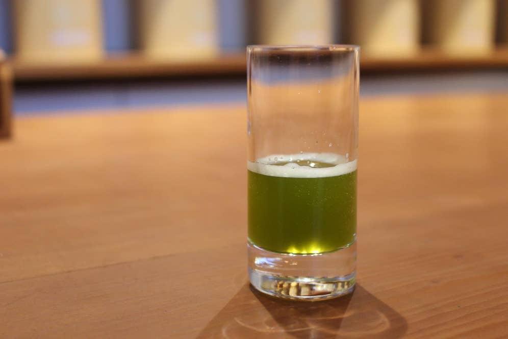 煎茶エスプレッソ(324円・税込)