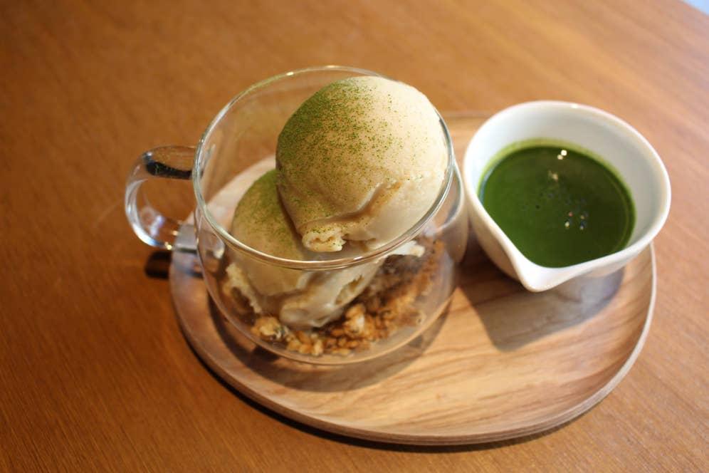 抹茶アフォガード(450円・税抜)