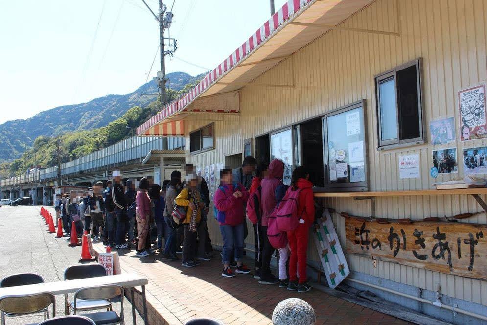 訪れたのは4月初旬の日曜日。お昼時は1〜2時間ほど並ぶことも。