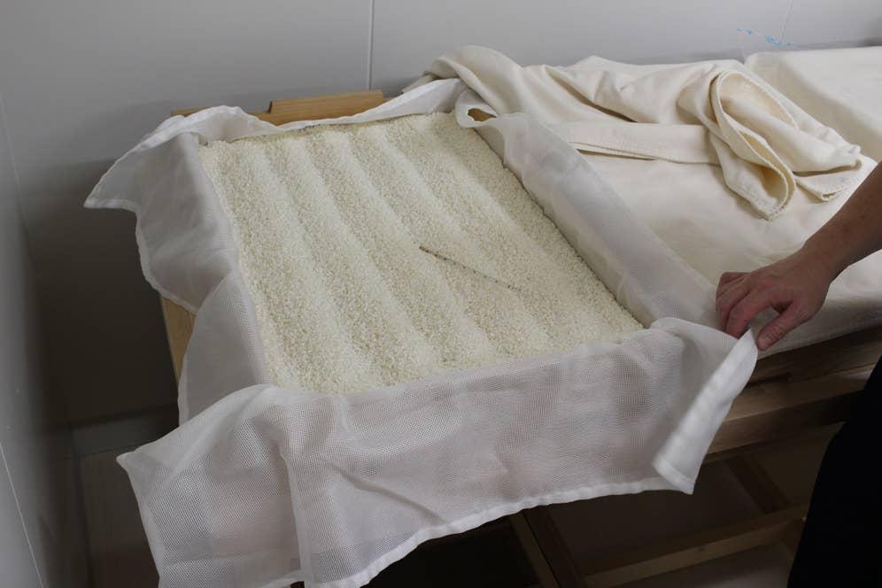 上川大雪で作る現在の川端杜氏の麹