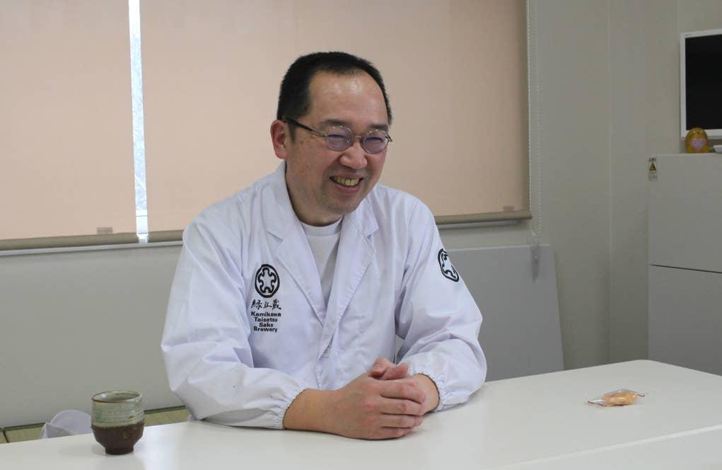 上川大雪酒造杜氏・川端慎治さん