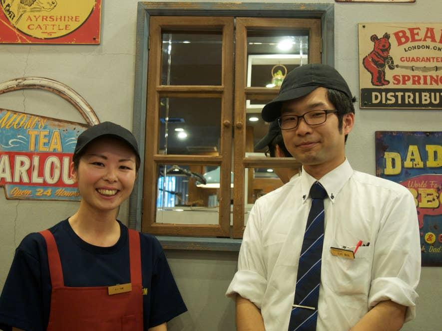 スタッフの木下さんと吉村さん