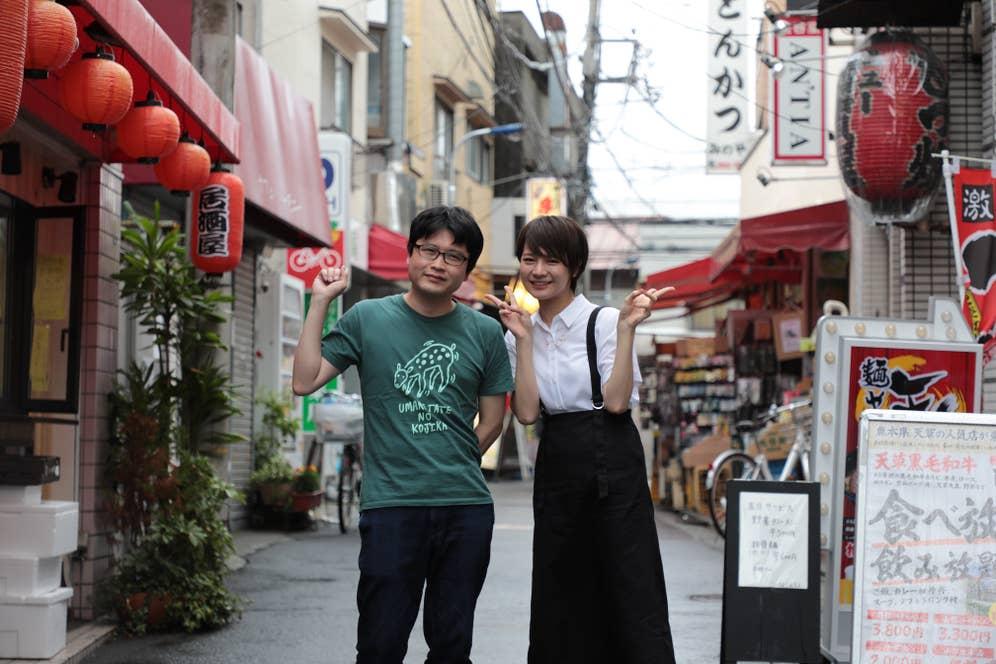 パリッコさん(左)と今野亜美さん(右)