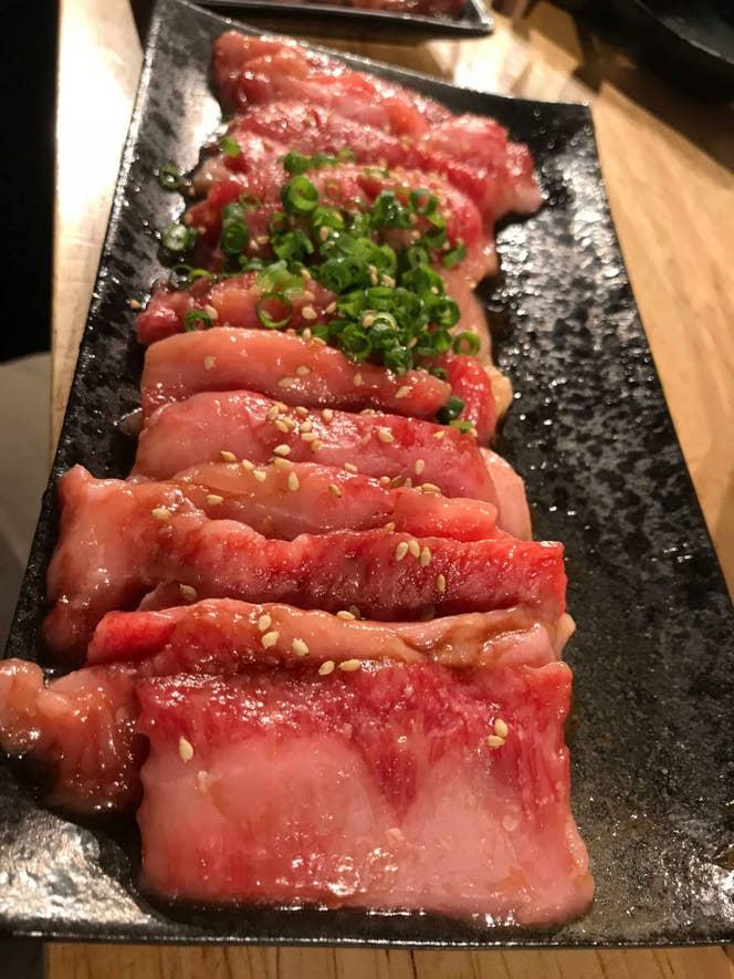 牛カルビ850円(税抜)