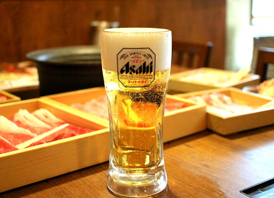 生ビール(100円)