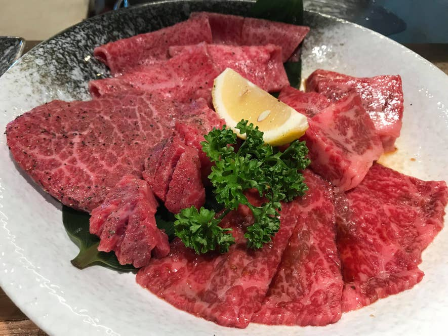 太田牛5種盛合わせ2,980円