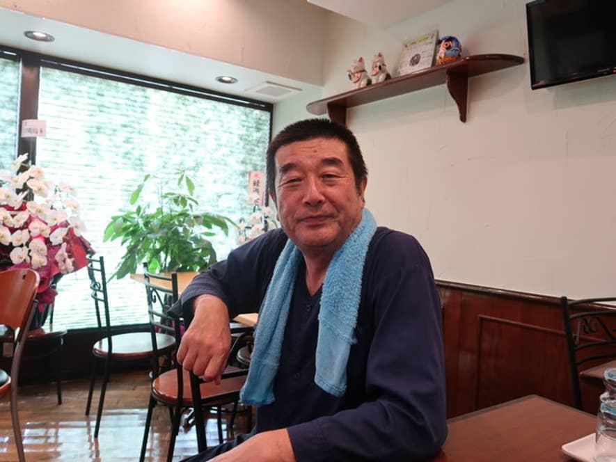 「あくざわ亭」店主・焼きそば部長、高橋英男さん