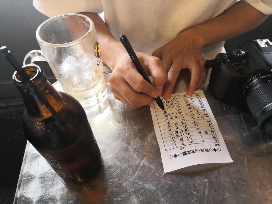 ▲一つ100〜200円とリーズナブルな天ぷらメニューがずらり