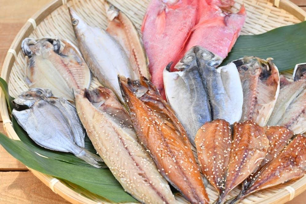 旬の魚でつくる魚伝の干物