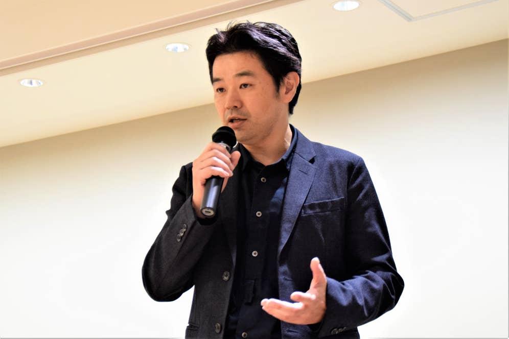 すべてのプログラムが終了し、締めの挨拶として勝川准教授が再登壇