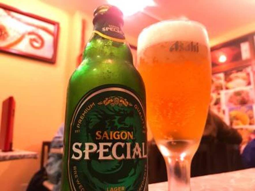 ★サイゴンビール ¥550