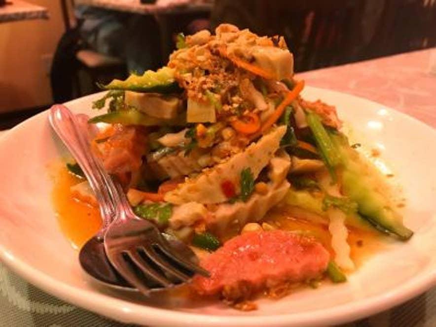 ★ベトナムハムのサラダ