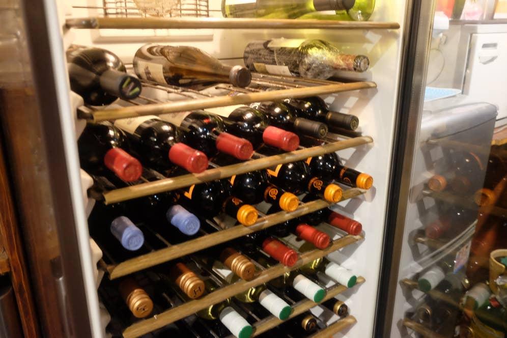ワインの種類も豊富