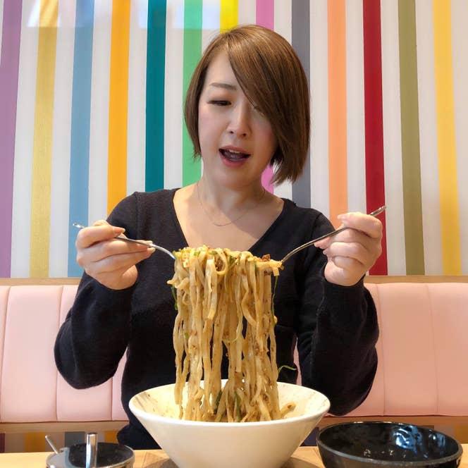 さすがはアメリカン!な量。女の子だっていっぱい食べたいときもあります!