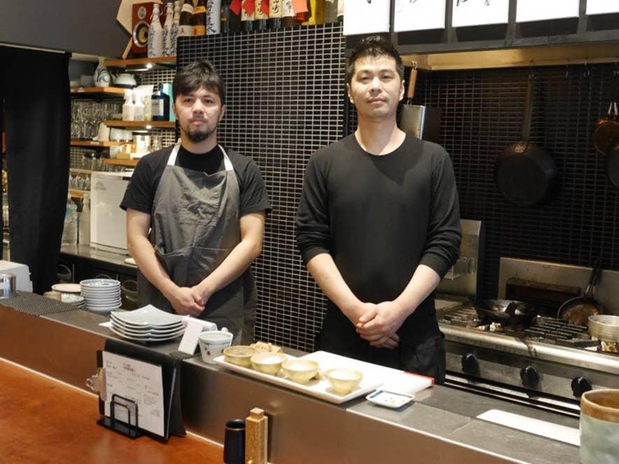 写真右が浦嶋勇木也さん、左が浦嶋甲二郎さん