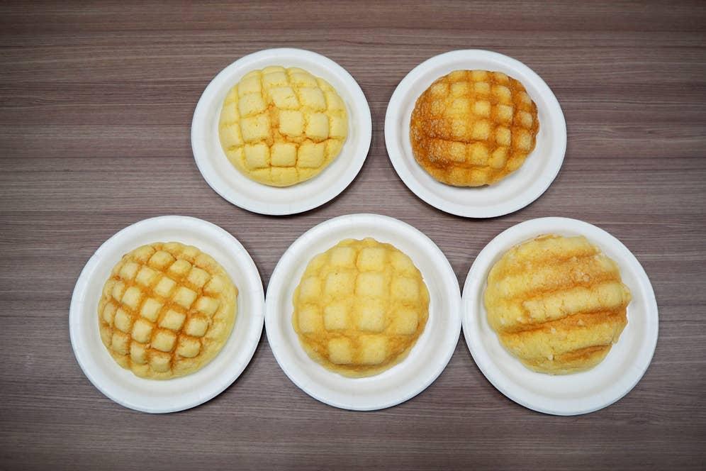 用意したのは「セブンイレブン」「ファミリーマート」「ローソン」「ミニストップ」「デイリーヤマザキ」で販売されている5種類のメロンパン。果たして全問正解なるか…?