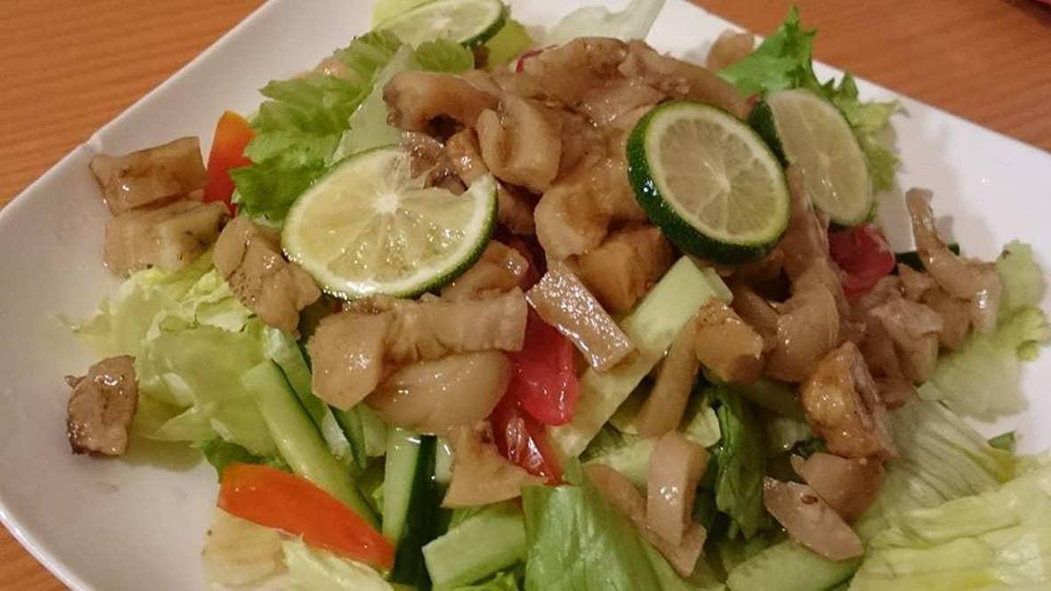 豚足サラダ