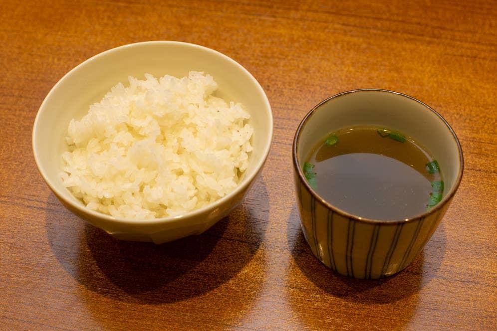 ▲ごはん 小(スープ付き) 143円(税込)