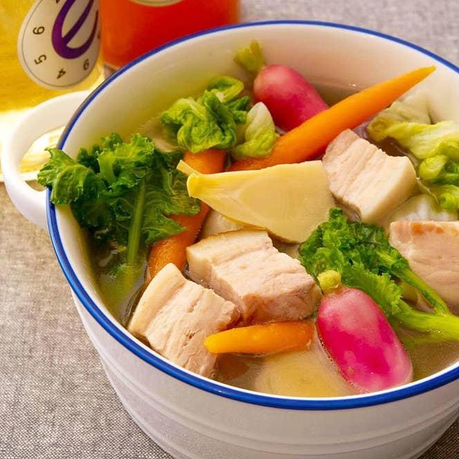 <Edition Koji Shimomura>で自粛期間中に提供していた、「野菜たっぷりお料理BOXシリーズ」の一例