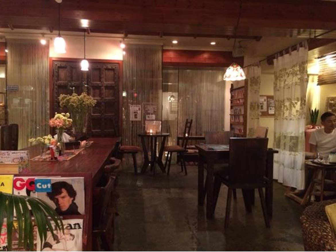 神泉 カフェ
