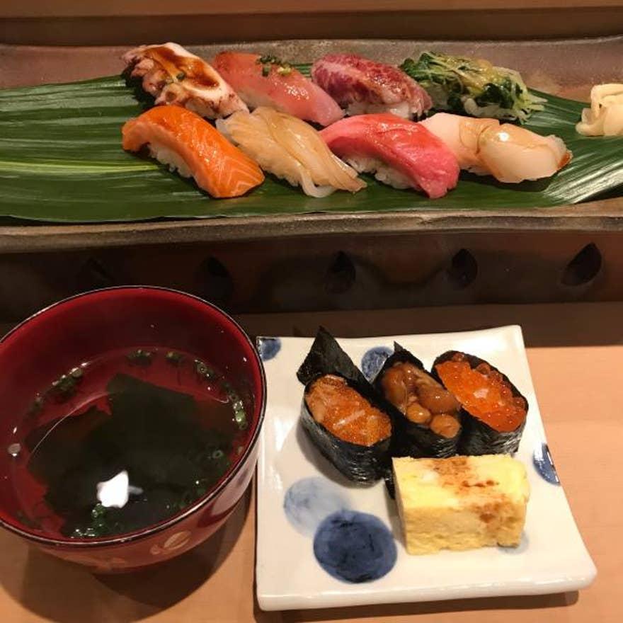 周辺 寿司