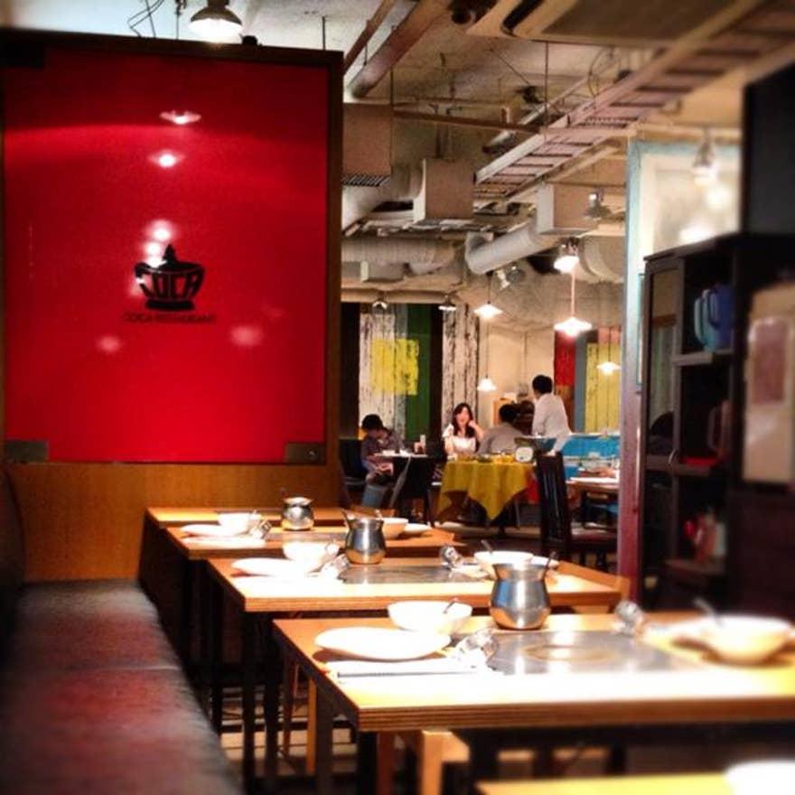 ビックカメラの中にあるレストラン - コカレストラ …