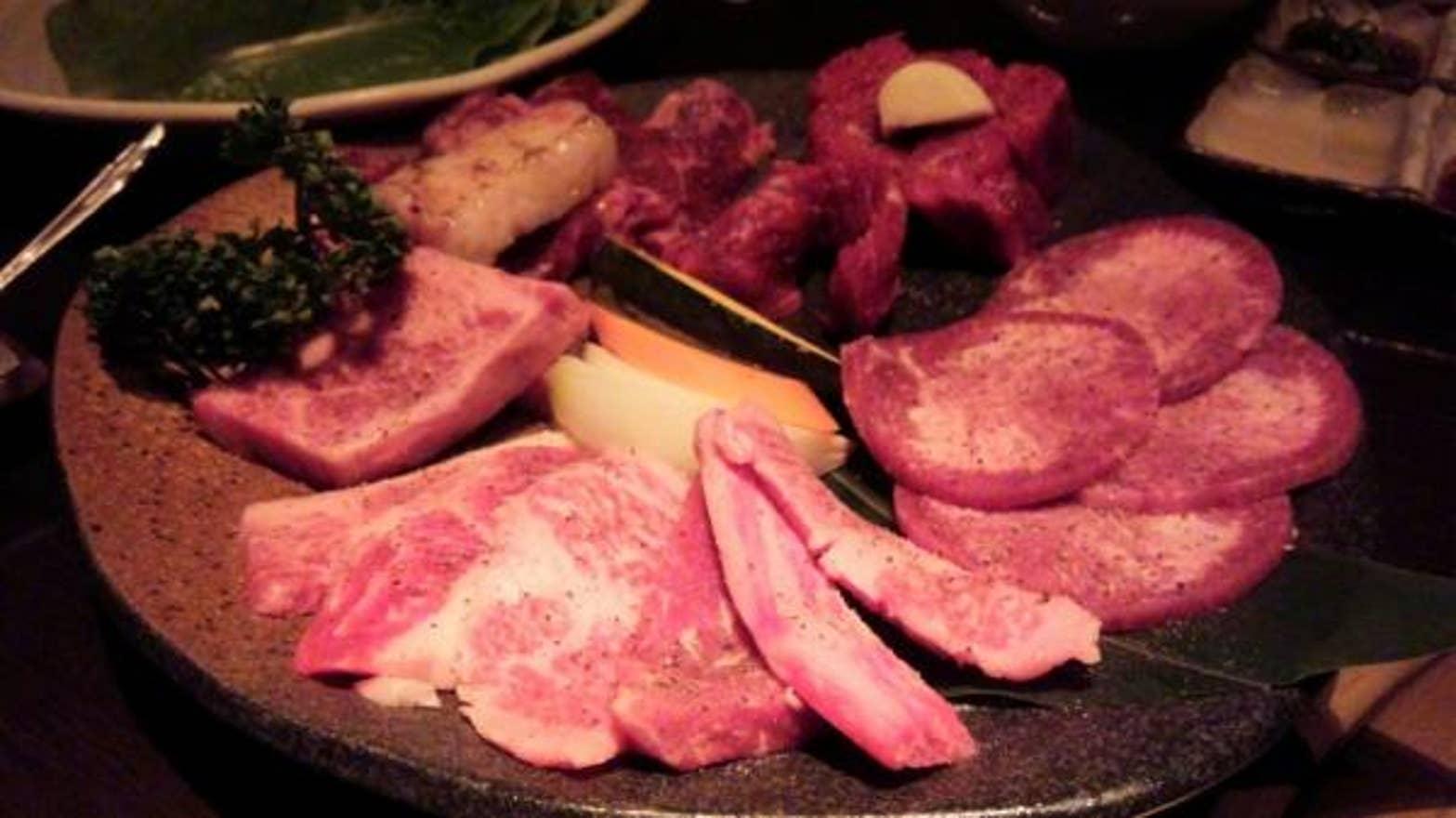 新宿 焼肉ランチ